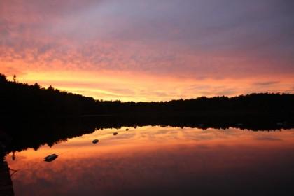 Sunset at Lyons Lake