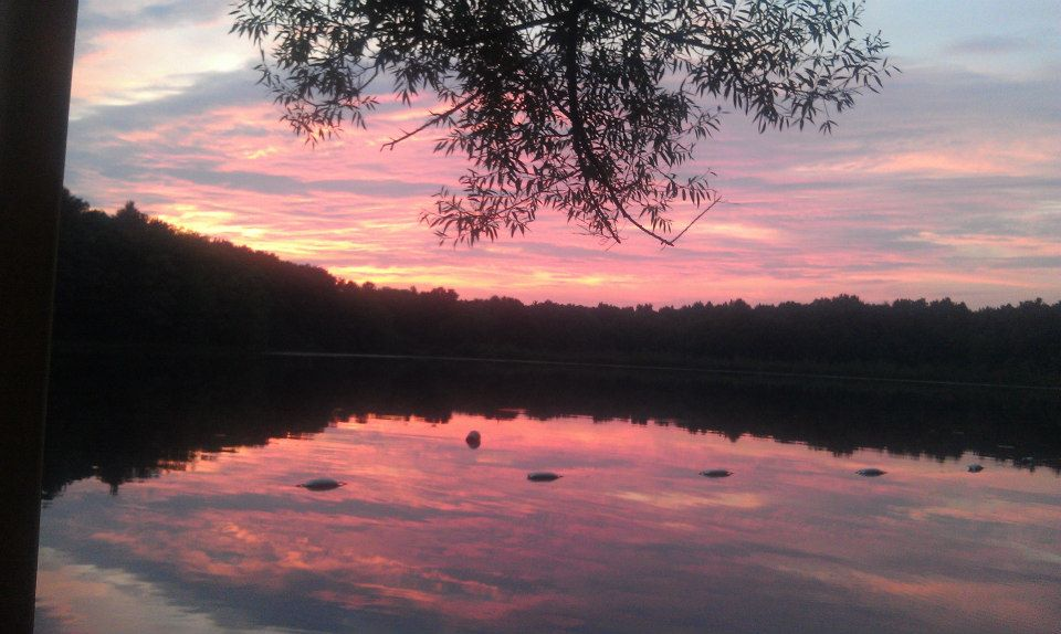 Just another stunning sunset at Lyons Lake