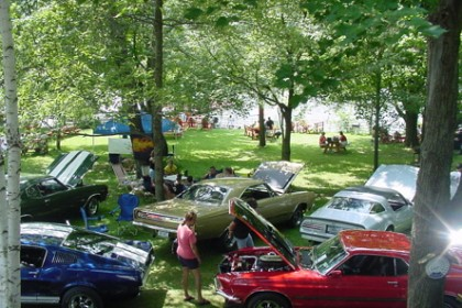 Car Show at Lyons Lake