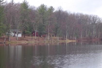 Quiet camps across the way